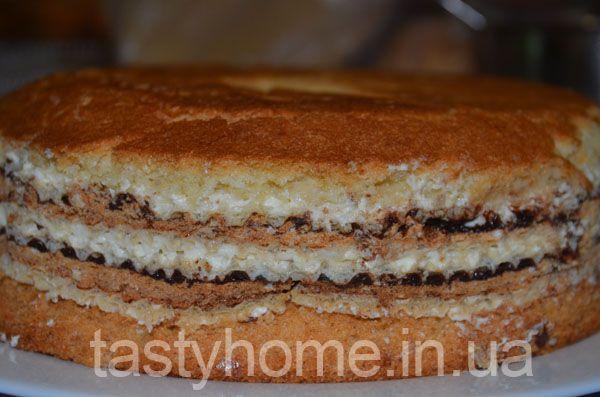 Бисквитные коржи для торта как приготовить