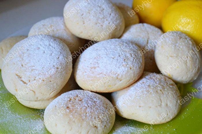 Песочное печенье с лимоном рецепт с пошагово