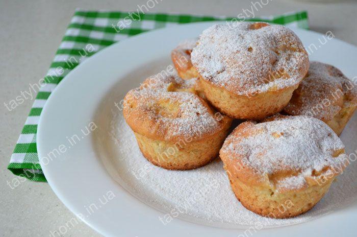 Маффины яблочные рецепт с фото пошагово