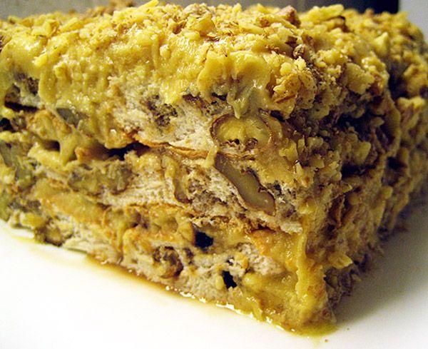 Ореховый торт королевский рецепт
