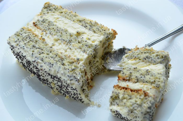 "Маковый торт ""Царица Эстер"""