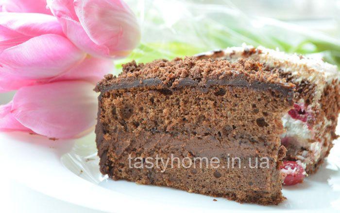 Шоколадный торт по госту рецепт с фото