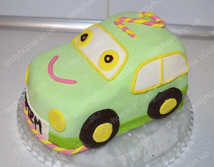 Торт машина из мастики пошагово