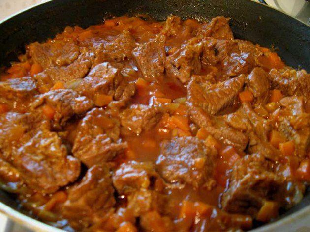 Как приготовить подлив мясом