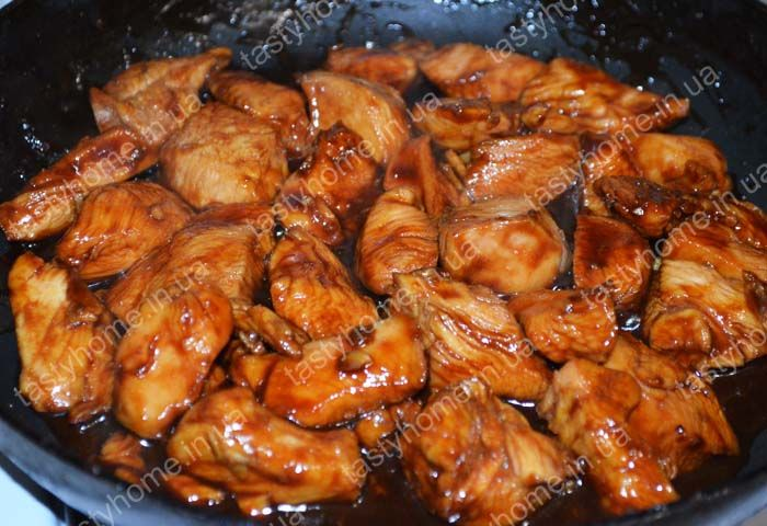 Филе куриное в соусе терияки рецепт с пошагово